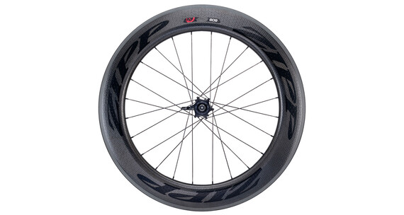 Zipp 808 Firecrest V3 Carbon Clincher HR 24 Loch black/black stickers